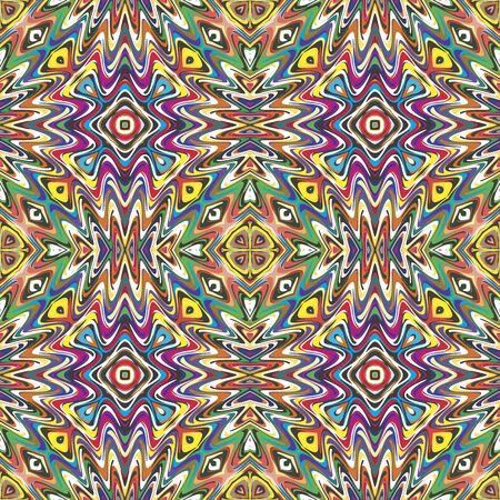 Mexicaine modèle vectoriel, illustration sophistiquée inspirée par des motifs antiques du Incas, Aztèques du design contemporain et des couleurs brillantes