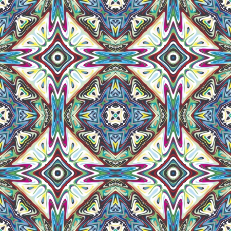 Mexican pattern, sophisticated artwork inspired by ancient motifs from Incas, Aztec in contemporary design and brilliant colors
