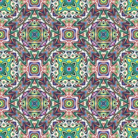 brilliant colors: Vector patr�n mexicano, obras de arte sofisticada inspirada en motivos antiguos de Incas, Aztecas en el dise�o contempor�neo y colores brillantes Vectores