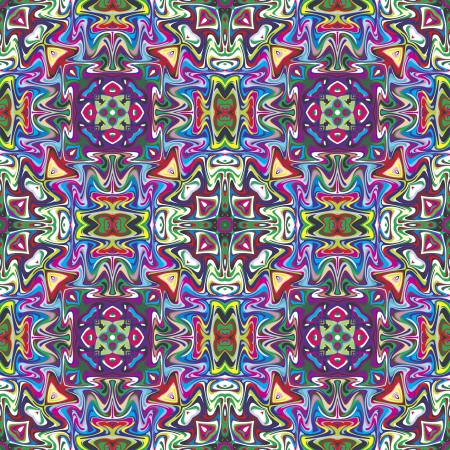 aztec art: Mexican vector pattern, sophisticated artwork inspired by ancient motifs from Incas, Aztec in contemporary design and brilliant colors Illustration