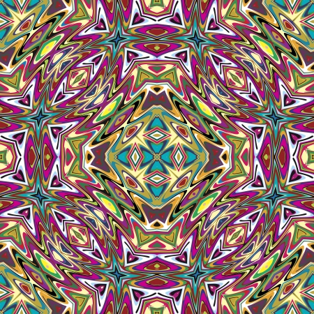 brilliant colors: Mexican vector pattern, sophisticated artwork inspired by ancient motifs from Incas, Aztec in contemporary design and brilliant colors Illustration