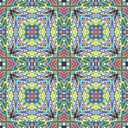 Conception de tissu mexicaine moderne dans des couleurs vives et lumineuses, transparente Vecteurs