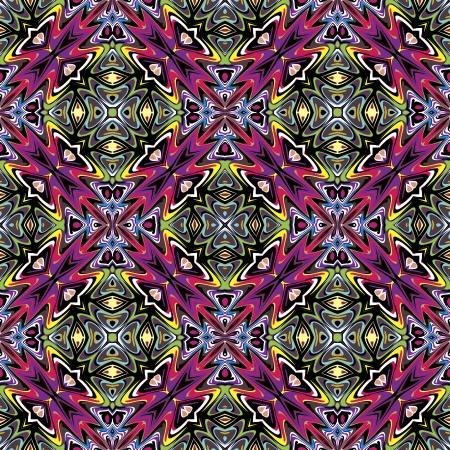 brilliant colors: Patr�n de dise�o moderno textil mexicana Seamless vector inspirado en motivos antiguos de Incas, Aztecas en el dise�o contempor�neo y colores brillantes