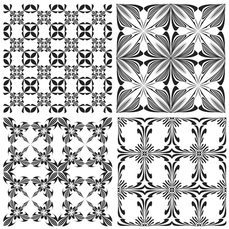 religious backgrounds: Set of contemporary Holy Cross pattern derived from ancient motives in vector art which allows you to choose your own color   combination