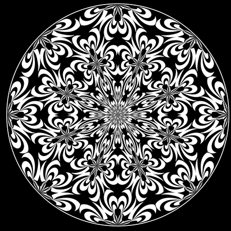 round window: Rose Window with Holy Cross symbols derived from ancient motifs in art which allows you to choose your own color combination