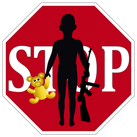 banish: Stop Child Soldiers as defined in the United Nations Convention on the Rights of the Child
