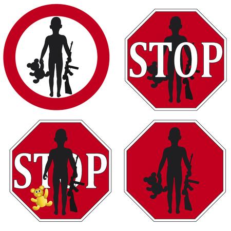 defined: Stop Child Soldiers come definiti nella Convenzione delle Nazioni Unite sui diritti del fanciullo