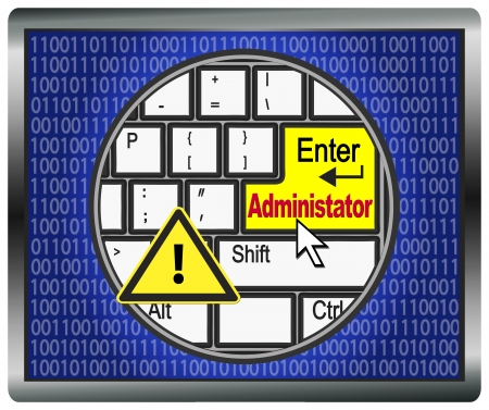 administrators: Beware of Administrator Rights  The Administrator has complete access on computer systems, he can enter and control every computer
