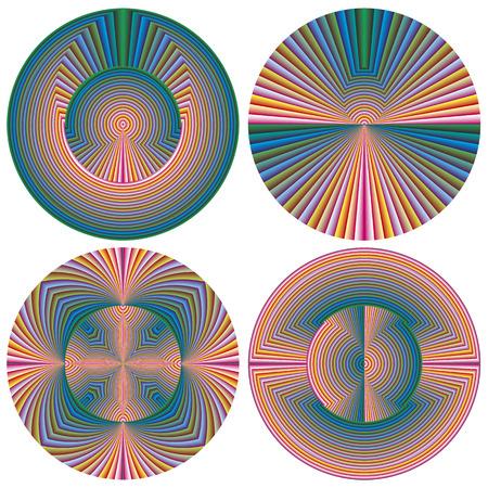 shui: Moderno modello di Feng Shui simboleggia la semplicit� con colori vivaci che irradia armonia e spiritualit�