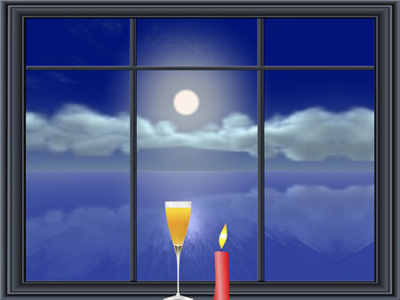lonesome: Lonesome celebration, I wish you were here allegory