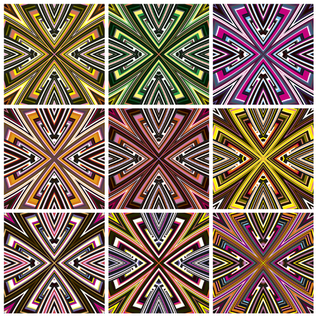 southern africa: Zimbabwe Pattern  Modern seamless textile textures from southern Africa with artistic motifs