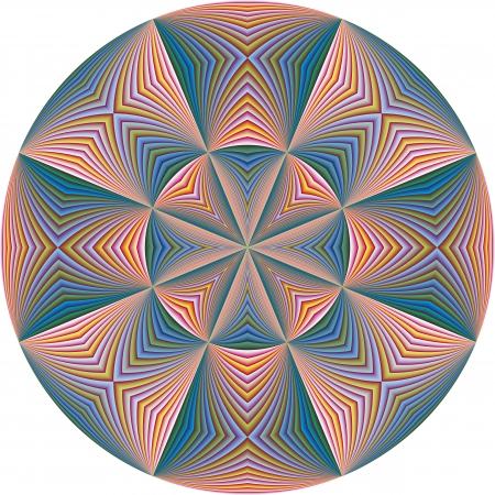brilliant colors: Modern Santa Cruz derivada de motivos antiguos en colores vivos y brillantes del arte vectorial sofisticado con 215 tonos de colores