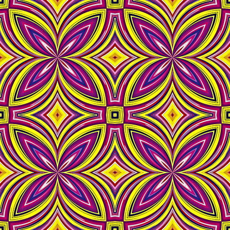 African Pattern  Stylish trendy design in vivid and lucid colors, seamless