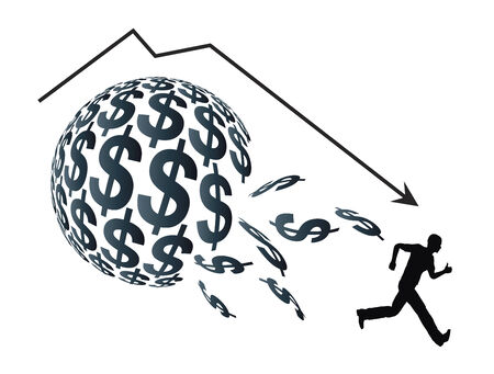 mania: Financial Bubble  Concept of economic crisis when a sudden drop in prices appears