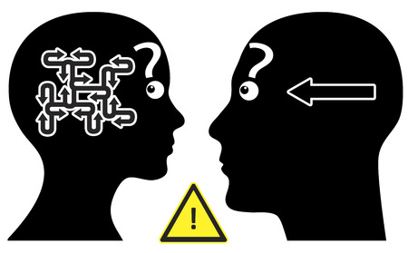 singularity: Simple Question  Man and woman have different communication pattern regarding questions or answers