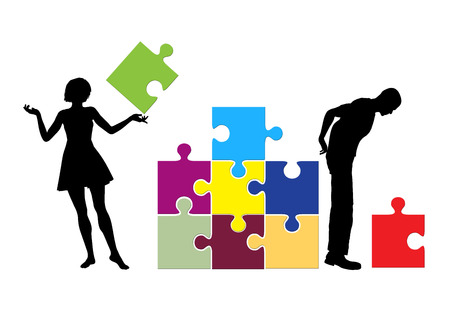rational: Female Solution  Men love to develop strategies while women approach problems by intuition