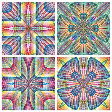 South American Tribal Pattern