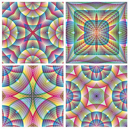 South American Tribal Pattern   イラスト・ベクター素材