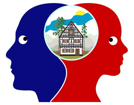 sweet home: So�ando con Sweet Home Pareja visualizar su proyecto de vida con casa propia en cualquier parte del campo