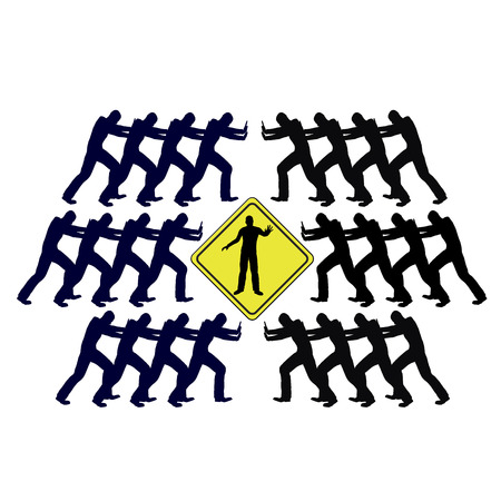 resolution: Conflict solving through mediation  Mediator arbitrages an escalating conflict between two opposing groups