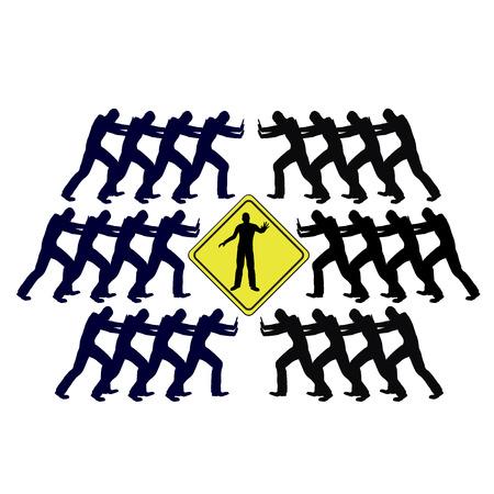 conflicto: Conflicto resolver a trav�s de la mediaci�n Mediador arbitrajes una escalada del conflicto entre dos grupos opuestos