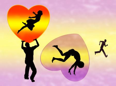 heartbreaker: Rompecorazones amante deja mujer con el coraz�n roto detr�s