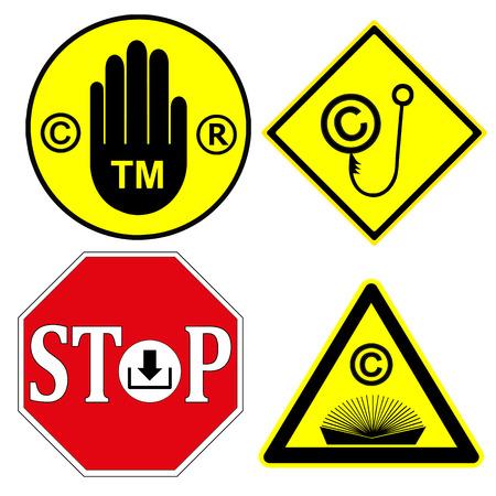 trademark: Tenga cuidado con los Derechos de Autor y Marcas Tenga en cuenta, que los productos o servicios con estos signos se protegen por ley