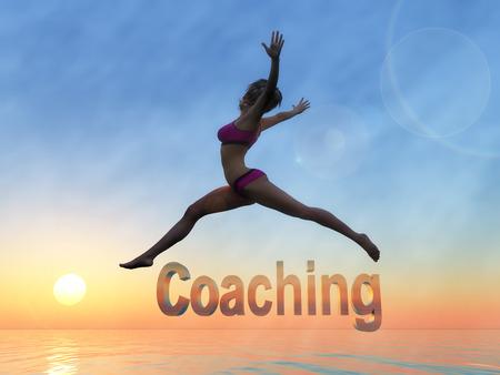 法の魅力と自信を発見するのに役立ちます美と人生のコーチ