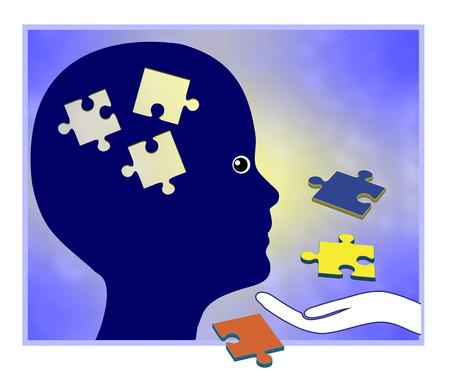 学習障害。学習パフォーマンスを向上させる教育援助を必要と子