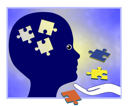 Learning Disorder. Child in need of educational aid to improve learning performance
