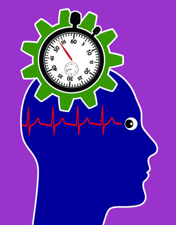 related: Health Risk through Stress. Permanent time pressure at work or at home can lead to serious health problems