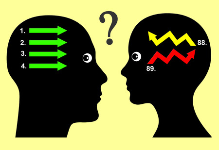 comunicar: Problemas de comunicaci�n. Los hombres y las mujeres parecen comunicarse en diferentes maneras debido a diversa manera de pensar