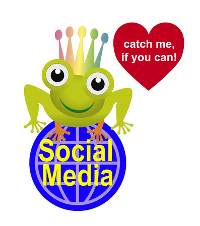 human relations: Catch me if you can. People in Social Media are longing for recognition and human relations, relating to the famous fairy tale about the frog king
