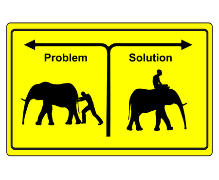cope: Problem versus Solution. The option of Either to relax and cope with problems or spending lots of energy for finding useless solutions