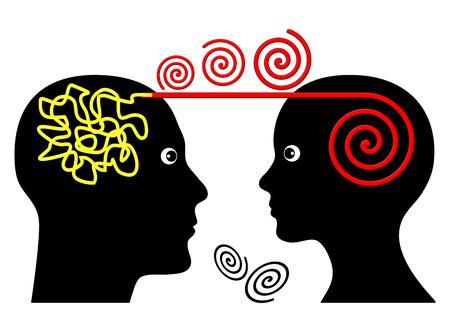心理療法のセッションです。精神障害の心理治療患者