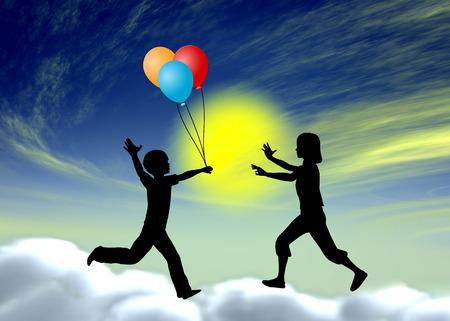 psicologia infantil: Fantasía en la primera infancia. Muestra del concepto de la importancia del juego de fantasía para desarrollar la imaginación, la fantasía y las habilidades sociales