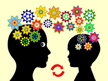 Inspiratie in Early Education. Leerkracht en kind zijn inspirerend op een andere in de ontwikkeling van jonge kinderen