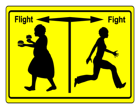 food fight: Fight Overweight. Everybody got the choice of reducing weight or continuing with bad food habits