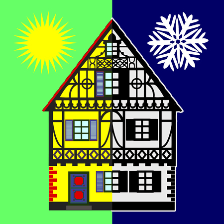 assessments: Home Energy Audit. Energy Assessments identify opportunities to reduce energy expenditure during summer and winter Stock Photo