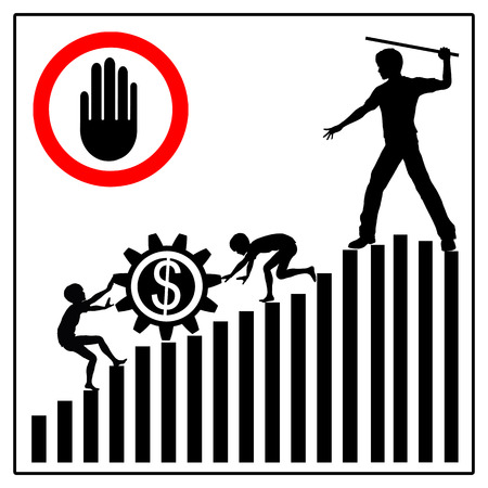slave labor: Stop Child Labor. Child laborers being abused by business and industries in order to yield high profits