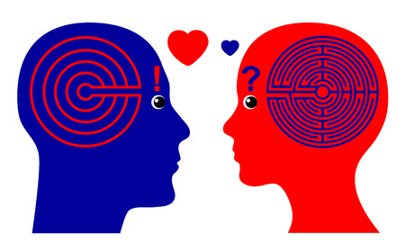 falling in love: Falling in Love. Men fall in Love faster than Women according to psychological theories