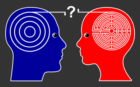 differently: Different Thinking Pattern. Women think differently than men leading to misunderstanding and open questions