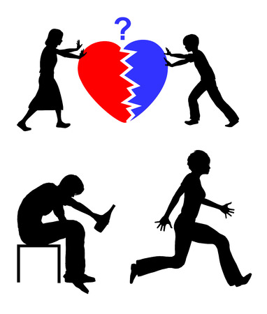 broken back: Kids cannot save the Marriage. Children cannot bring back the love between their parents when they have already broken off