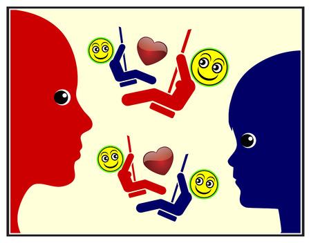 empatia: Enseñar a los niños la empatía. Los padres son los modelos a seguir cuando en viene al desarrollo de las habilidades sociales en Educación Infantil