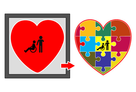 inclusion: Inclusion. Children with disabilities must become part of the public educational system and community living and not be hidden in institutions