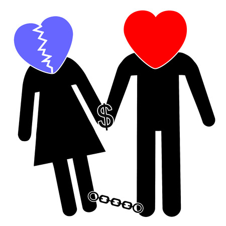financially: Financially Dependence. Wife can not separate from the husband: because she is financially dependent