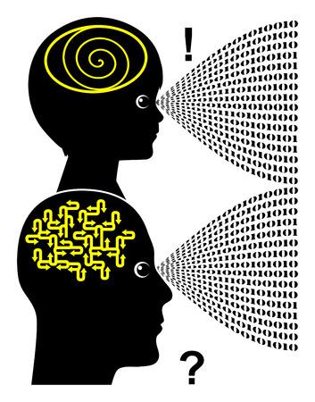 cognicion: Procesamiento de informaci�n. Informaci�n del proceso ni�os ordenador mucho m�s r�pido y m�s f�cil digitales que los adultos