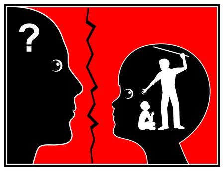 psicologia infantil: Azotes y Traumatología Infantil. Castigo Corporal en Educación Infantil deja huella psicológica permanente