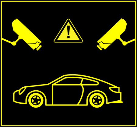 cams: Video Surveillance for Cars. Security cameras monitor parking lots or underground parking