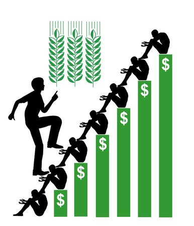 disparity: Speculation in Wheat. Betting on hunger with stocks leads to high food prices and starvation